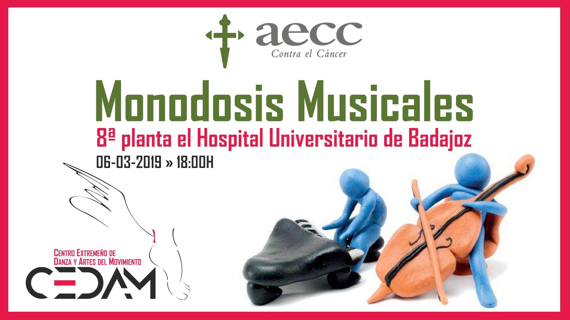 CEDAM en las Monodosis Musicales Badajoz